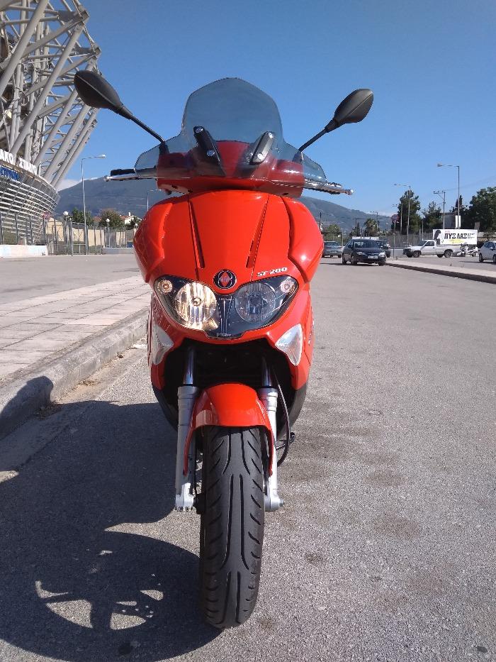 GILERA RUNNER 200 VXR RST E3-2010