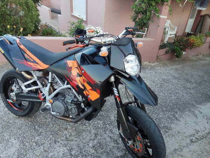 KTM 950 Super Moto-2005