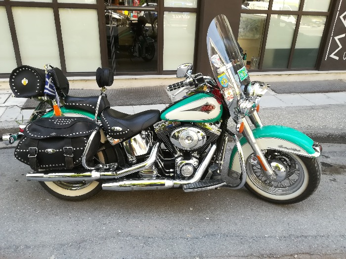 HARLEY DAVIDSON HERITAGE SOFTAIL CLASSIC-2000