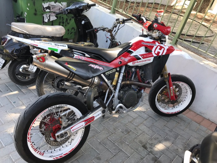 HUSQVARNA SM 510 R-2006