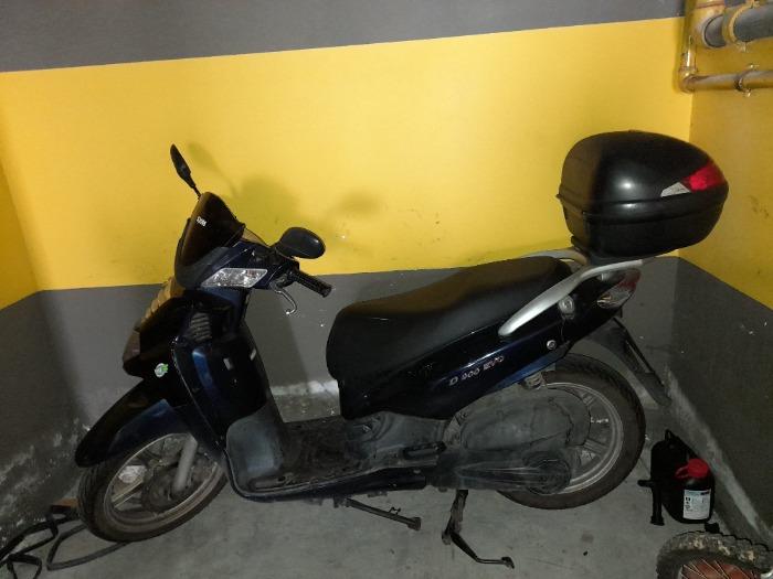 SYM HD 200 EVO-2008