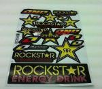 Αυτοκολλητο καρτελα Rockstar 10380-154