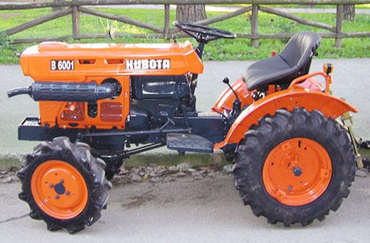 KUBOTA B 6001-